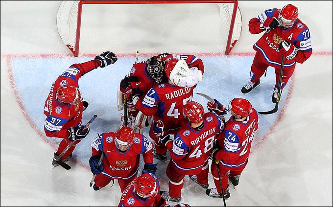 Без очковых потерь на чемпионате мира только сборная России