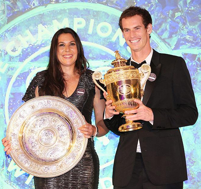 Победители Уимблдона-2013: Марион Бартоли и Энди Маррей