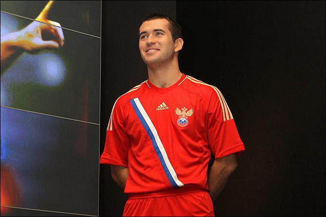 В новой форме российская сборная сыграет на чемпионате Европы 2012 года