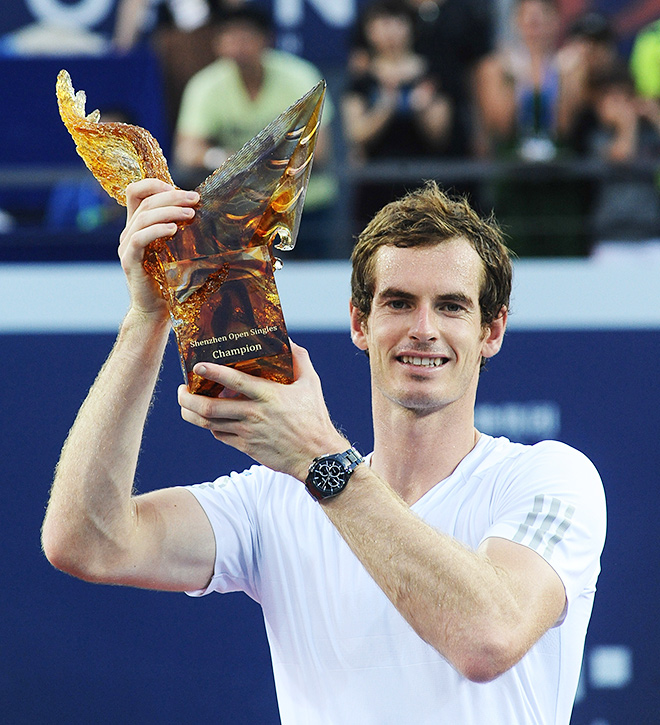 Первый трофей Маррея в году