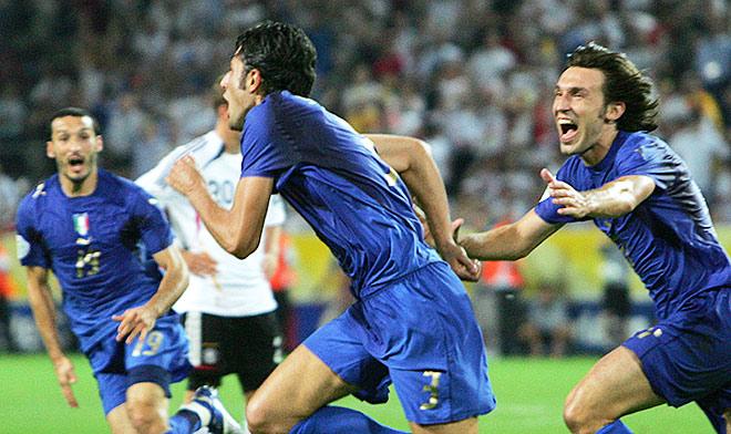 Германия — Италия — 0:2. ЧМ-2006. ½ финала