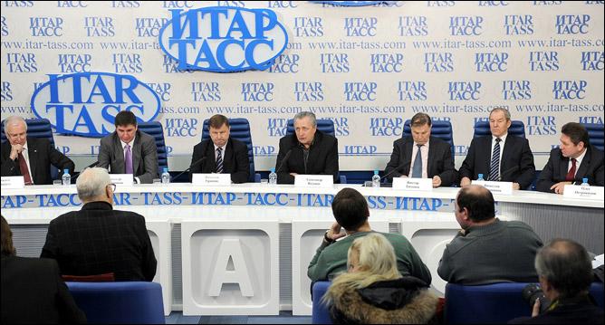 Пресс-конференция перед открытием турнира