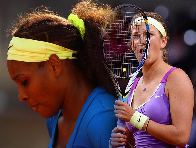 Азаренко и Уильямс по разным причинам не сыграли свои матчи в Риме