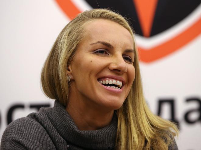 Светлана Кузнецова в редакции «Чемпионата»