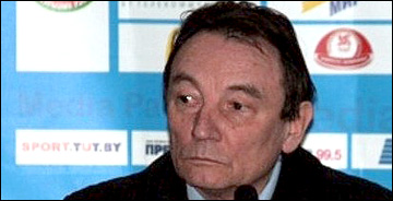 Генеральный менеджер сборных команд Белоруссии Владимир Сафонов