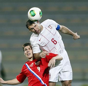 """Россия – Сербия — 1:1. Кому нужны такие """"товарняки"""" с рядовыми оппонентами на ничейной территории?"""