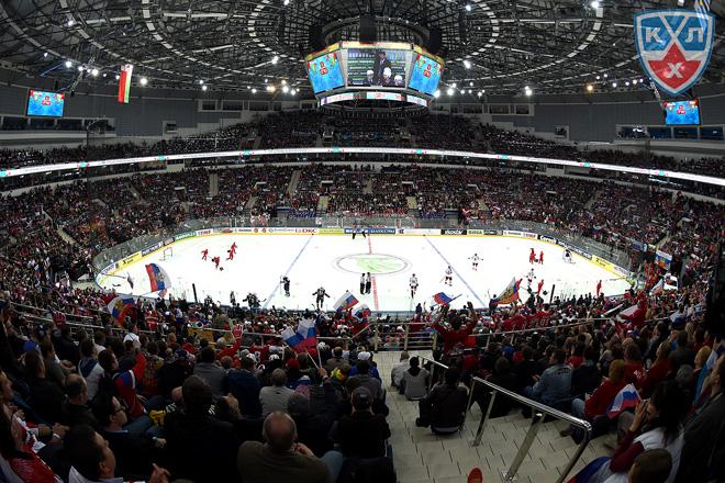 «Минск-Арена» ждёт