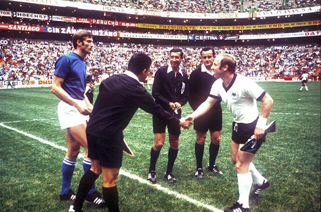 Италия — ФРГ — 4:3. ЧМ-1970. Полуфинал