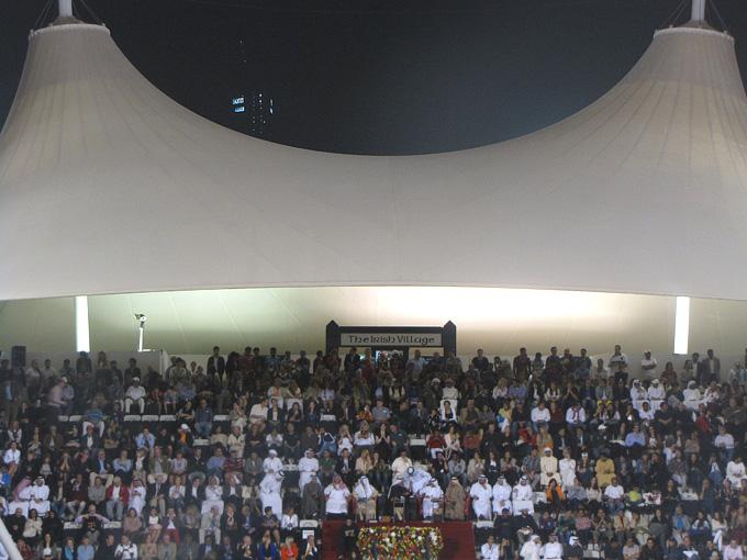 Шейхи и VIP из других стран наблюдают за финальным матчем