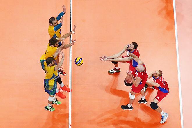 Сборная России уступила хозяевам в олимпийском полуфинале