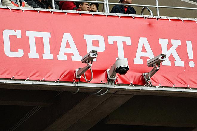 Видеонаблюдение на стадионе «Открытие Арена»