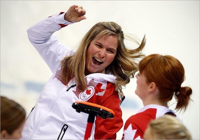 В финале женского турнира по кёрлингу Канада оказалась сильнее
