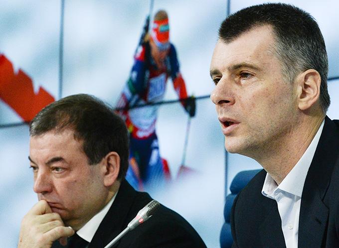 Сергей Кущенко и Михаил Прохоров