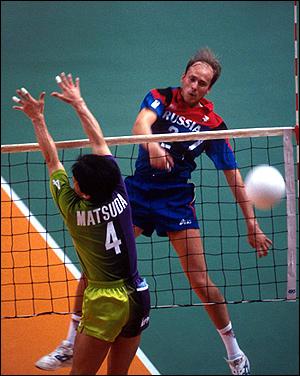 Андрей Кузнецов в форме сборной России