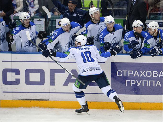 Наиль Якупов вспыхнул яркой звездой на небосклоне КХЛ