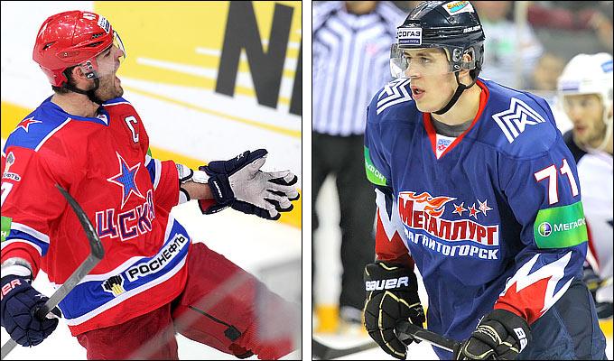 Александр Радулов против Евгения Малкина