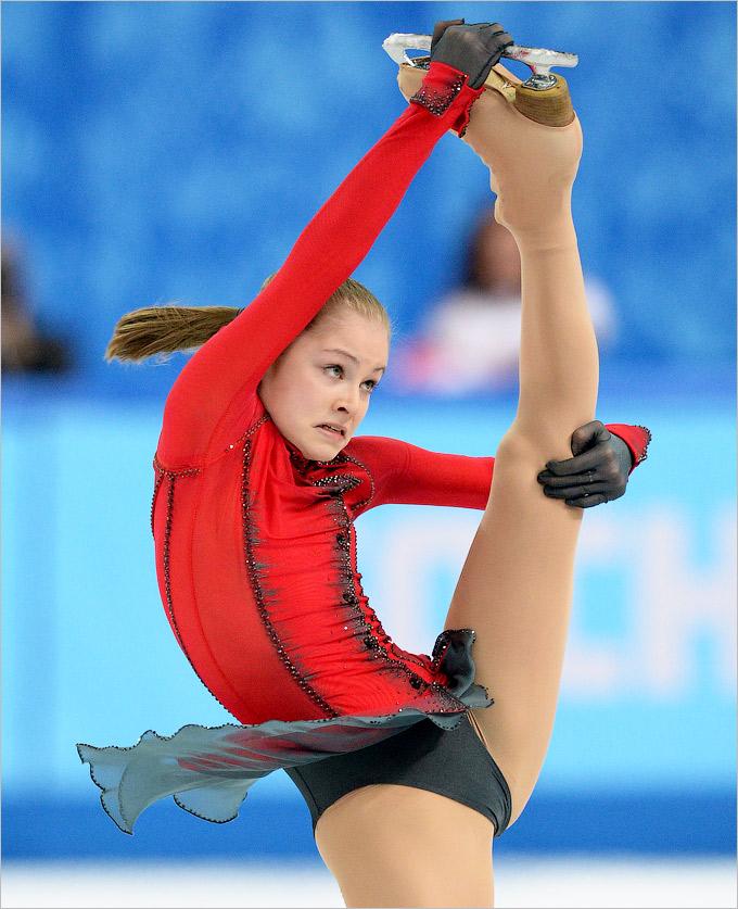Завоевать ещё одну медаль в Сочи Юлии Липницкой не удалось