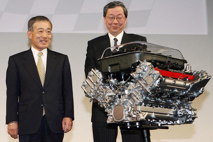 Моторы V8 дожили до 2014 года