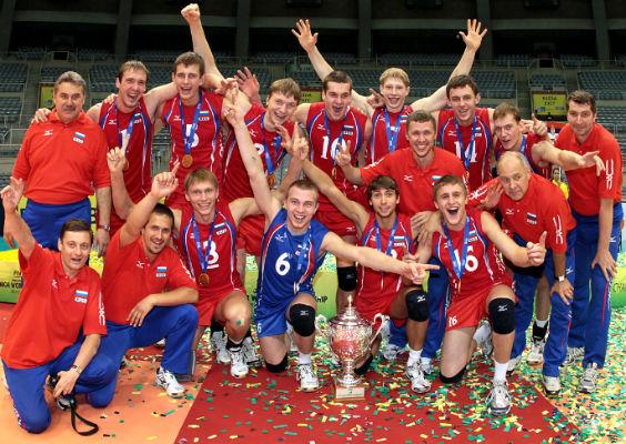 Сборная России — триумфатор юниорского чемпионата мира