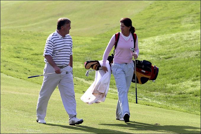 Кент Нильссон с супругой Хелен Альфредссон, 2006 год