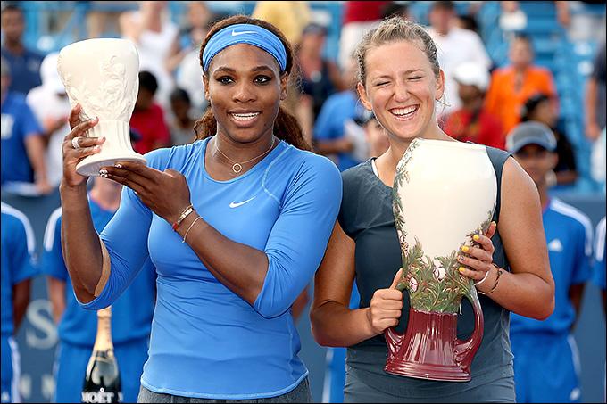 Серена Уильямс не в лучшей форме, но всё равно в финале