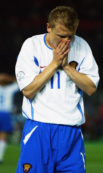 Чемпионат мира–2002, 9 июня 2002 г., Йокогама. Владимир Бесчастных после поражения от Японии