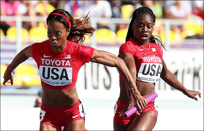 Американки проиграли эстафету Ямайке