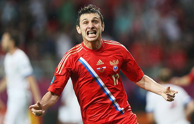 Форма сборной России на Евро-2012