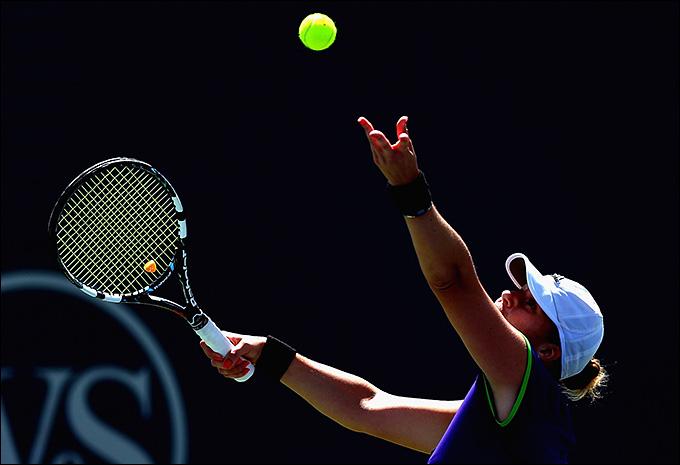 Алиса Клейбанова выиграла первый матч в WTA в этом году