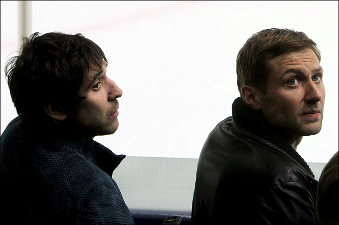 Алексей Морозов и Данис Зарипов