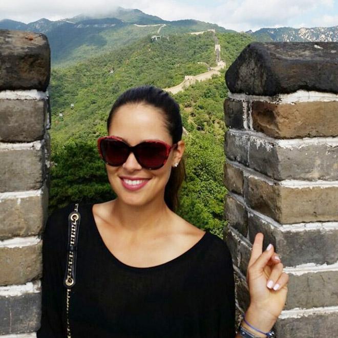Иванович на Великой китайской стене