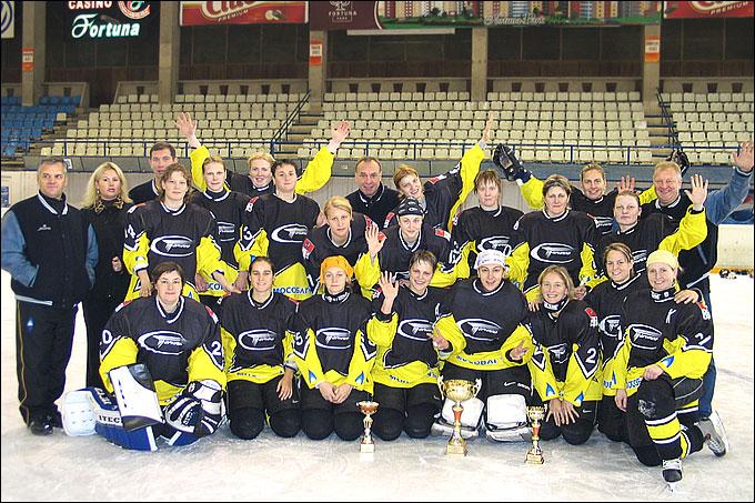 """ЖХК """"Торнадо"""" — победитель Кубка европейских чемпионов 2006 года"""