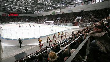 В Новокузнецке любят хоккей