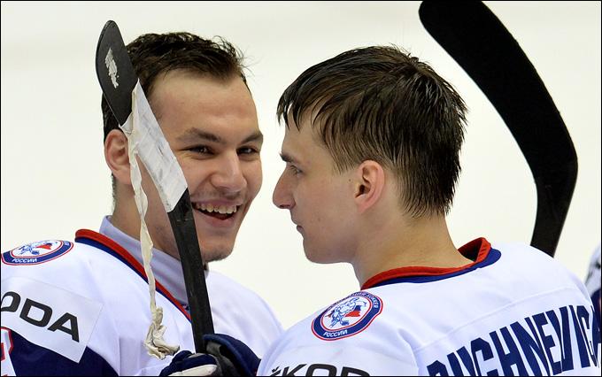 Павел Бучневич (справа) и Рузаль Галеев