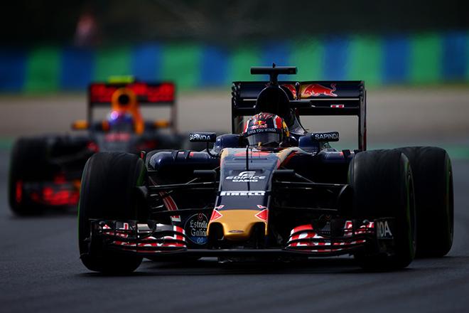 Даниил Квят на Гран-при Венгрии