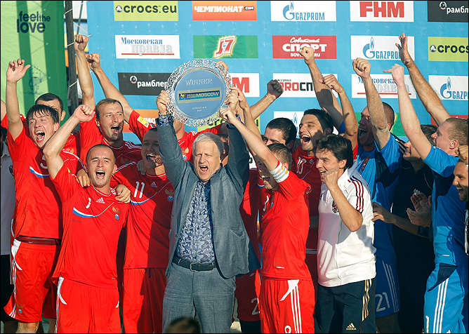 Итоги-2011. Пляжный футбол