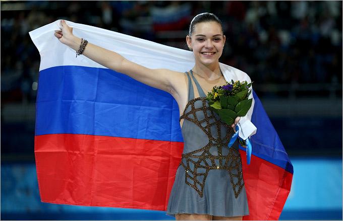 Аделина Сотникова — есть золотая медаль!