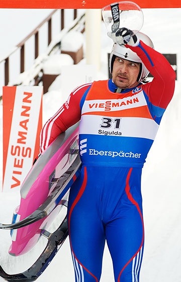 Альберт Демченко в Сочи будет одним из главных фаворитов в соревнованиях по санному спорту