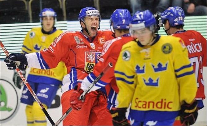 10 ноября 2011 года. Хельсинки. Кубок Карьяла. Швеция — Чехия — 2:5