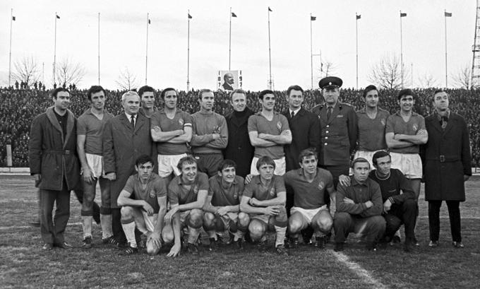 ЦСКА — чемпион СССР 1970 года