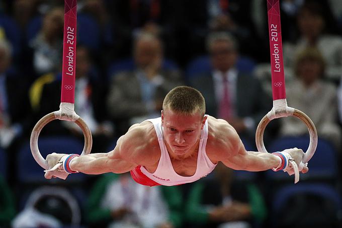 Лондон 2012. Спортивная гимнастика. Денис Аблязин