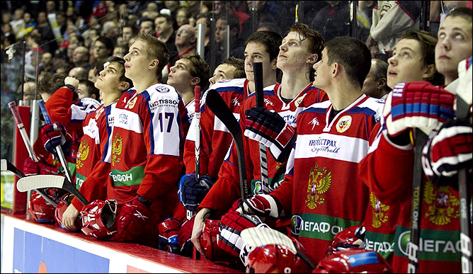 11 ноября 2011 года. Оттава. Subway Super Series. Канада (OHL) — Россия (U-20) — 10:7