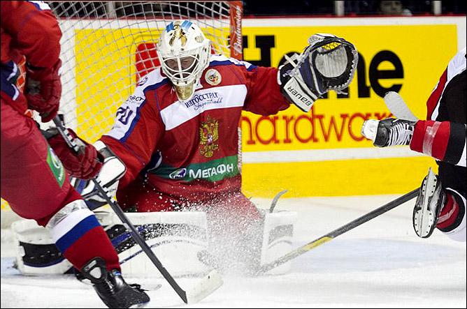 11 ноября 2011 года. Оттава. Subway Super Series. Канада (OHL) — Россия (U-20) — 10:7