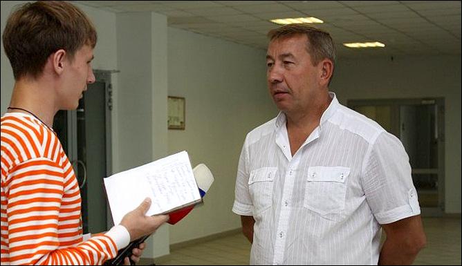 """Главный тренер красноярского """"Сокола"""" Александр Глазков"""