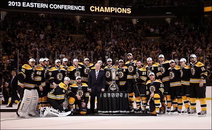 """8 июня 2013 года. Бостон. Плей-офф НХЛ. 1/2 финала. Матч № 4. """"Бостон"""" — """"Питтсбург"""" — 1:0. """"Бостон Брюинз"""" — чемпион Восточной конференции"""