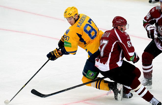 Александр Кадейкин против рижского «Динамо»