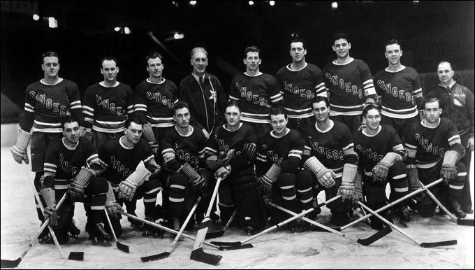 """Лестер Патрик — главный тренер """"Нью-Йорк Рейнджерс"""", 1938 год"""