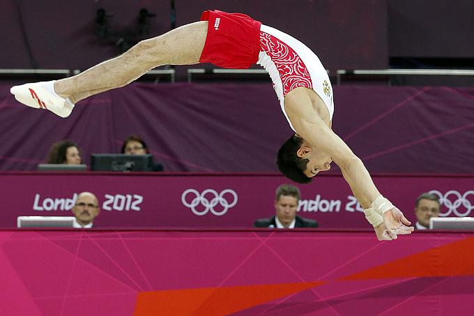 Лондон 2012. Спортивная гимнастика. Эмин Гарибов