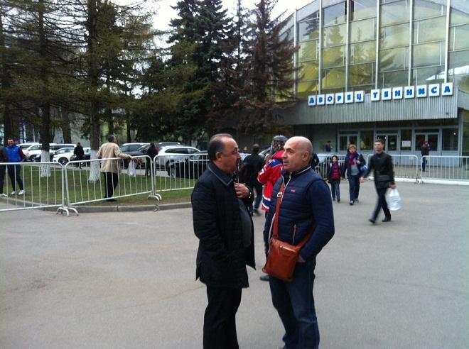 Валерий Газзаев и Михаил Грушевский
