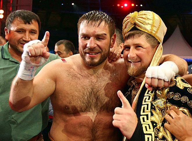 Руслан Чагаев и Рамзан Кадыров